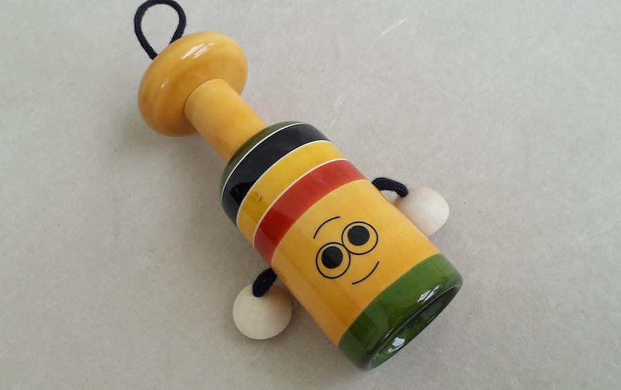 BELL RATTLE - Wooden Toys - indic inspirations
