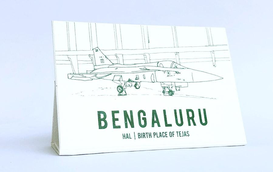 BENGALURU :: Birth Place of Tejas - City souvenirs - indic inspirations