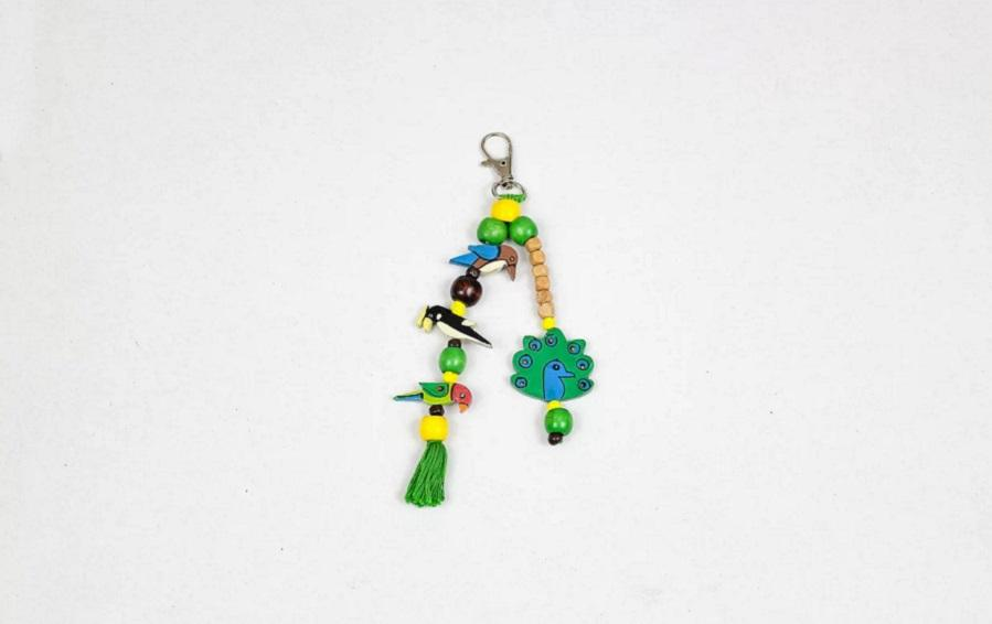 Birds of India Charm - Bag accessories - indic inspirations