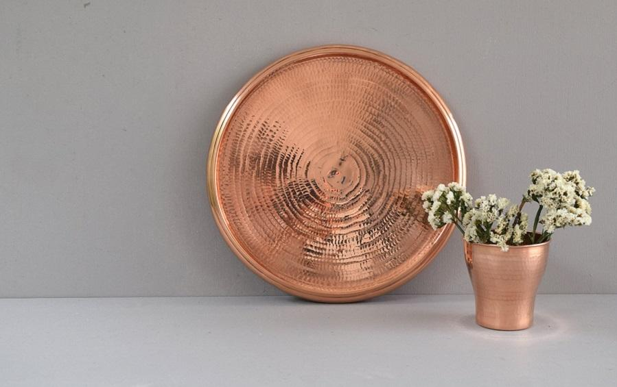 Circled Tray - Trays - indic inspirations