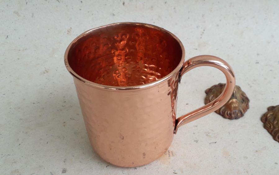 Classic Copper Moscow Mule Mug - Copper Mugs - indic inspirations