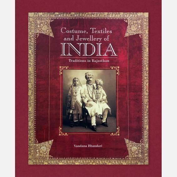 Costumes, Textiles, Jewellery - Books - indic inspirations