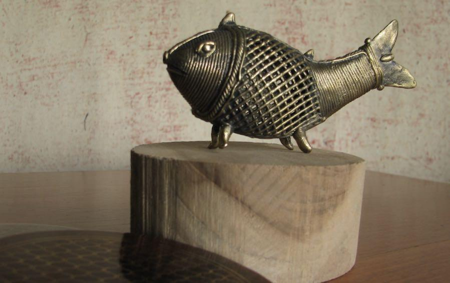 Dhokra Fish - Dhokra artifacts - indic inspirations
