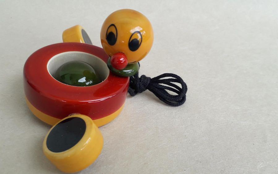 DUBY DUCK - PULL ALONG TOY - Wooden Toy - indic inspirations