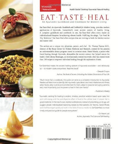 Eat-Taste-Heal:Ayurvedic Cooking - Books - indic inspirations