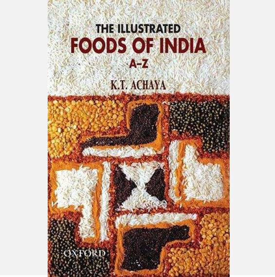 Illustrated Foods of India - Books - indic inspirations