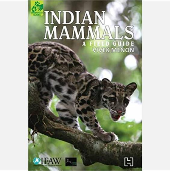 Indian Mammals: A Field Guide - Books - indic inspirations