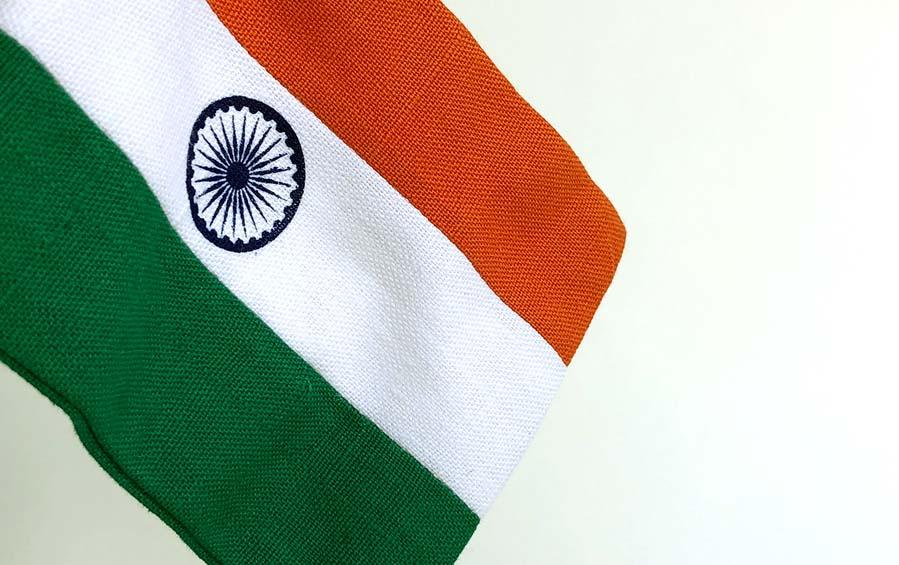 Indian Table Flag Small - Miniature table flags - indic inspirations