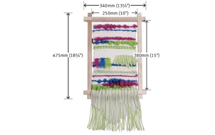 INDIAN WEAVING LOOM - VERTICAL - Weaving looms - indic inspirations