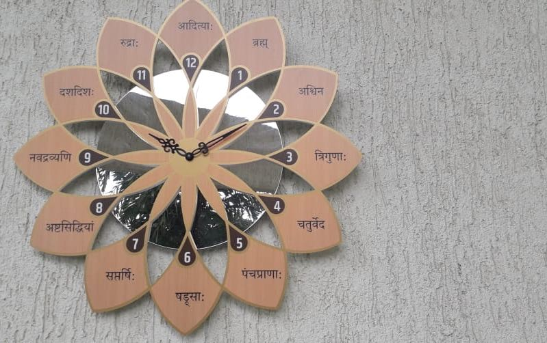 Indic Clock - Wall clocks - indic inspirations