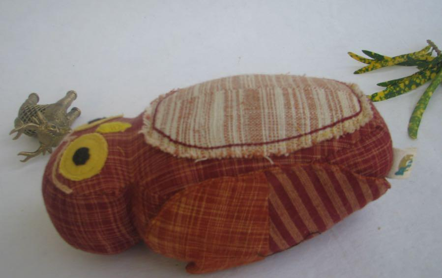 Juggi - Khadi Jungle Owlet - Soft Toys - indic inspirations