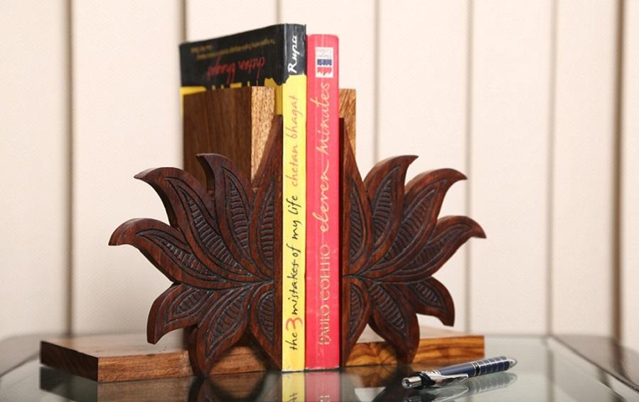 Kamal Design Bookend - Bookends - indic inspirations