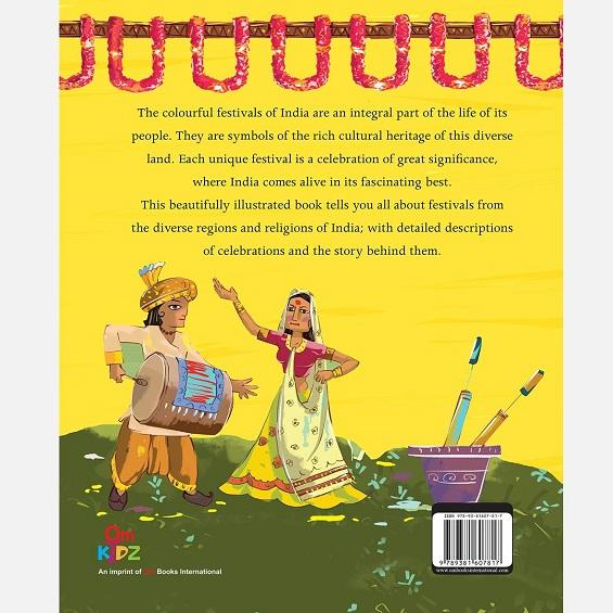 Large Print: Festivals of india - Books - indic inspirations