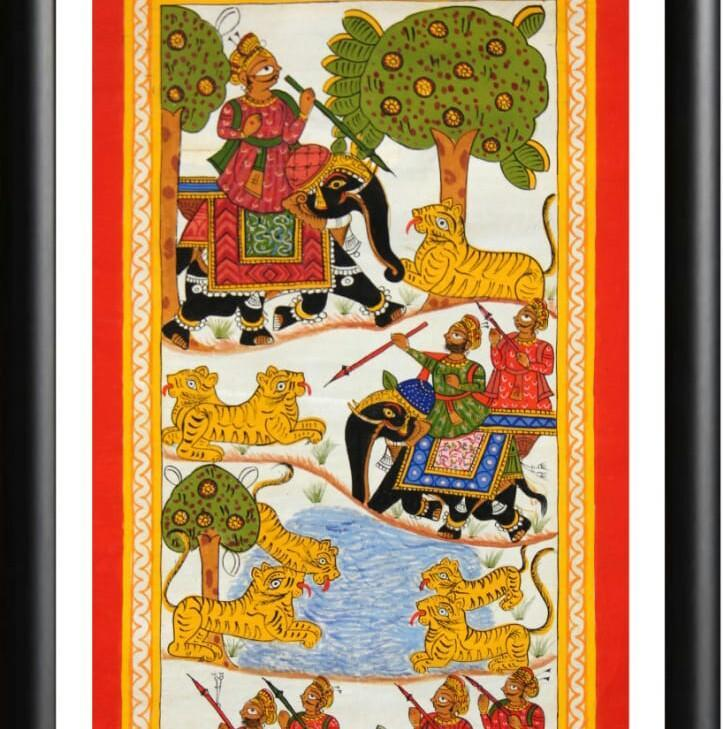 PHAD PAINTINGS COLLECTION - paintings - indic inspirations