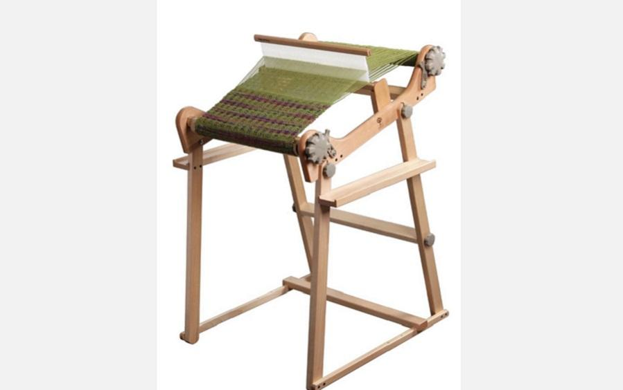 RIGID HEDDLE LOOM 24 Inch With Stand - Weaving looms - indic inspirations