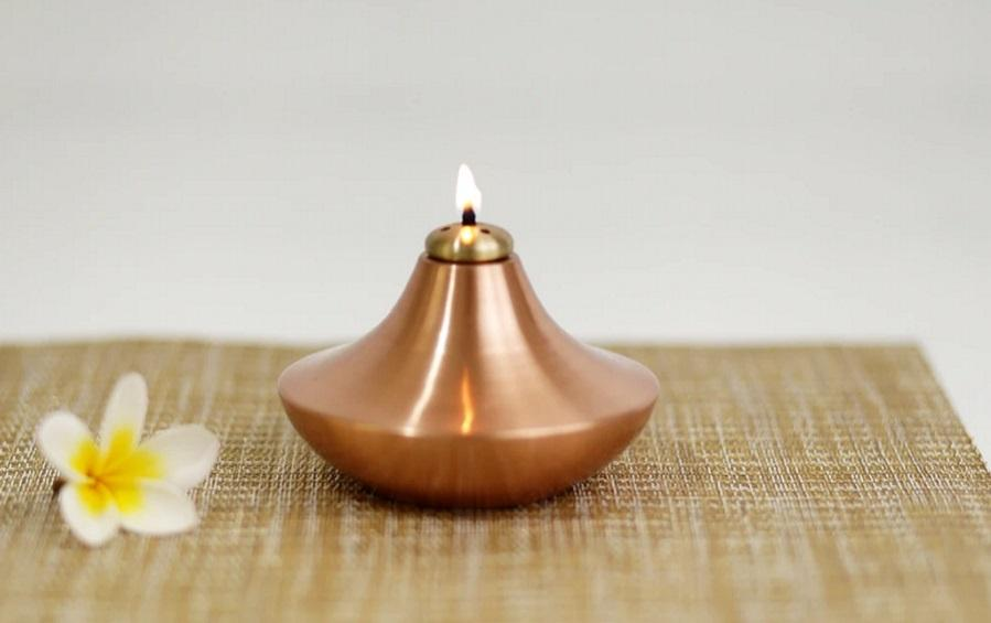 SANCHI OIL LAMP - Oil lamps - indic inspirations