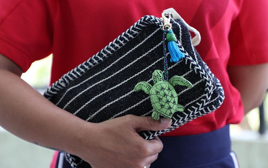 Shelly - the Sea Turtle Charm - Bag accessories - indic inspirations