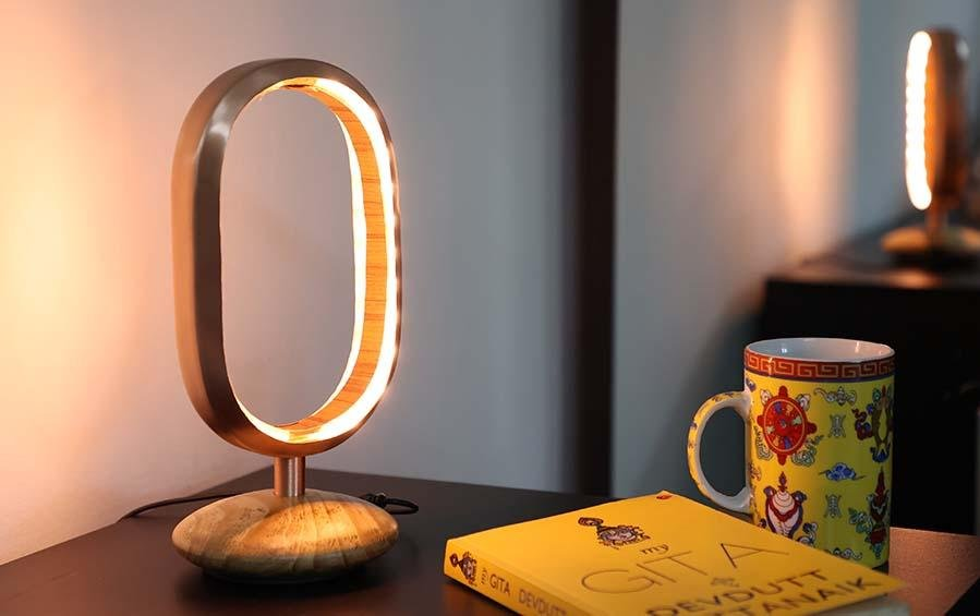 Shunya Inspired Table Lamp - Table Lamps - indic inspirations