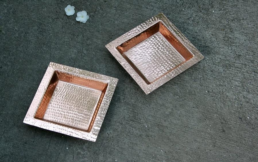 Square Platter - Serving plates - indic inspirations