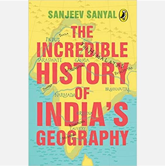 The Incredible History of India's Geography - Books - indic inspirations