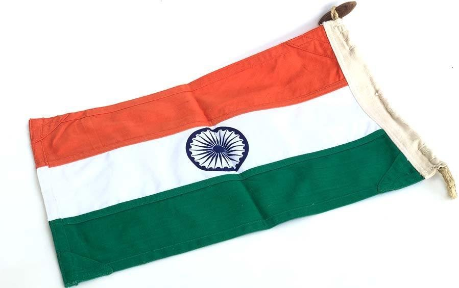 Tiranga - Khadi Original - 3 ft x 2 ft - Flags - indic inspirations