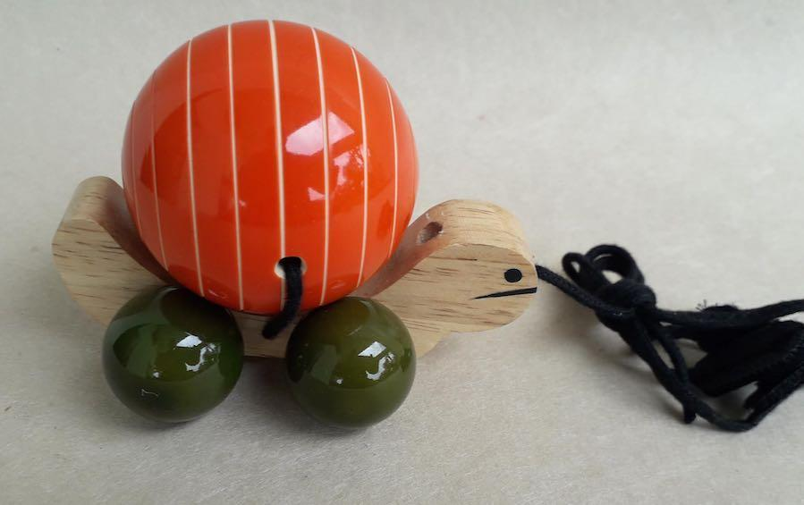 Tuttu Turtle - Wooden Toys - indic inspirations