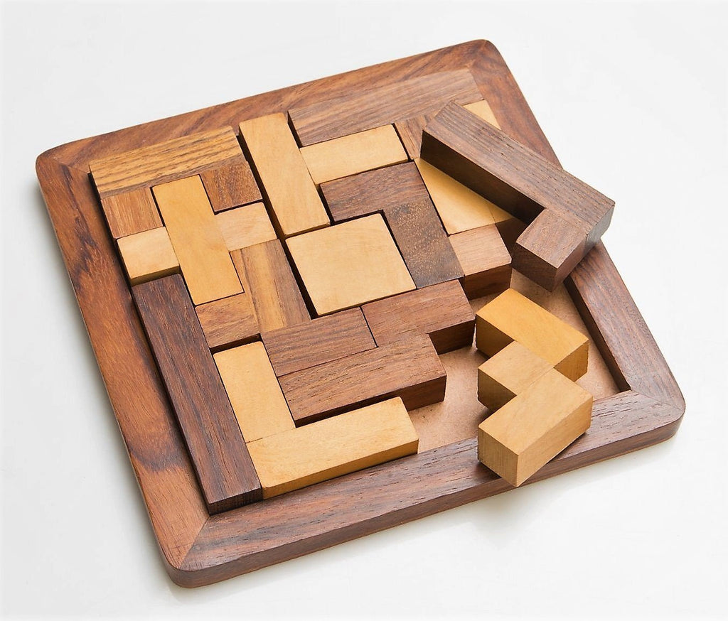Wood Jigsaw Puzzle - puzzles - indic inspirations