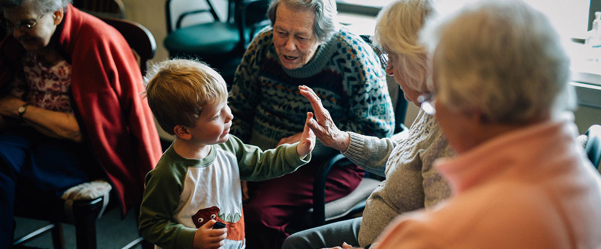 The 'Little Owls' project and the benefits of toddlers visiting care homes