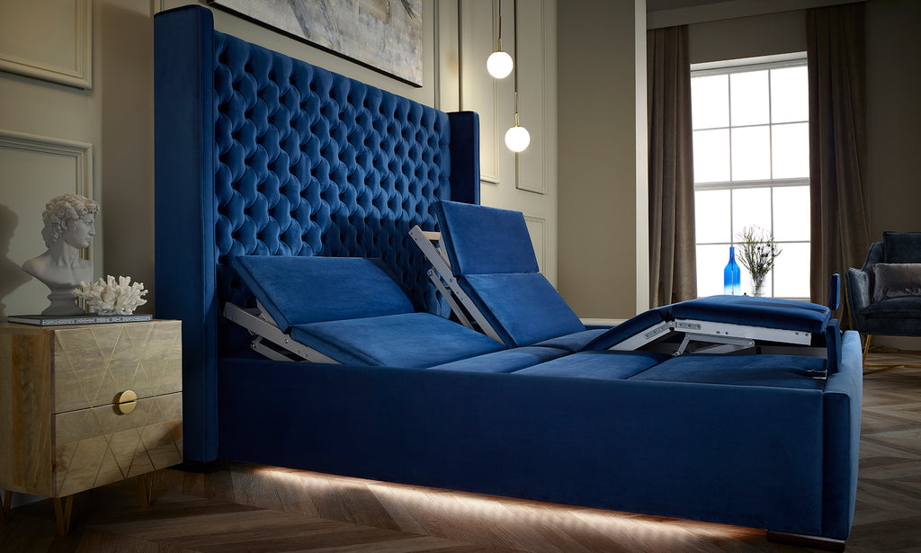 Luxury Upholstered Adjustable Beds