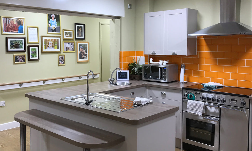 Woodside Care Village Kitchen