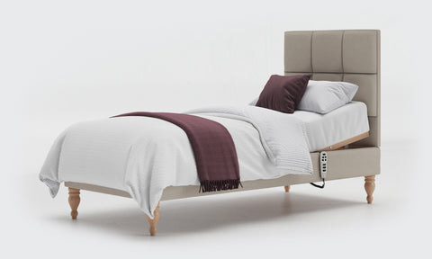 Adjustable Bed with Shallow Base