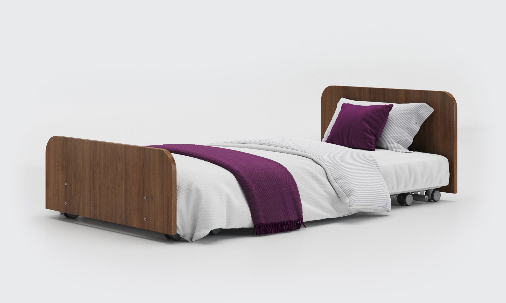 Solo Wooden Discreet Hospital Bed