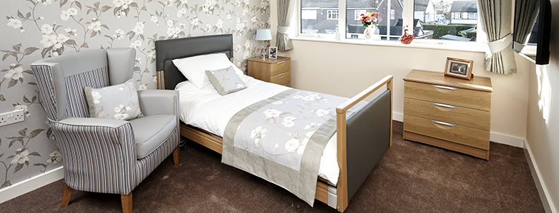 Autumn House Care Home Bedroom