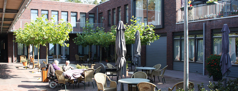Dutch Dementia Village Courtyard