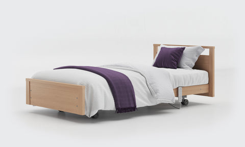 Care Bed with Low Footboard