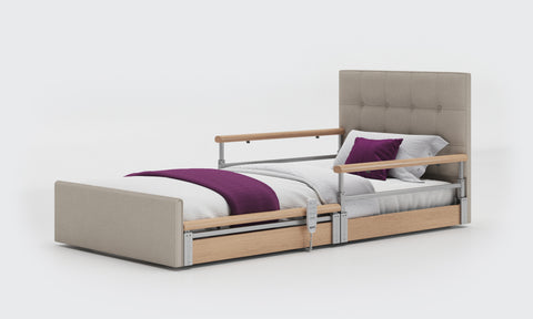 Profiling Bed with Split Rails