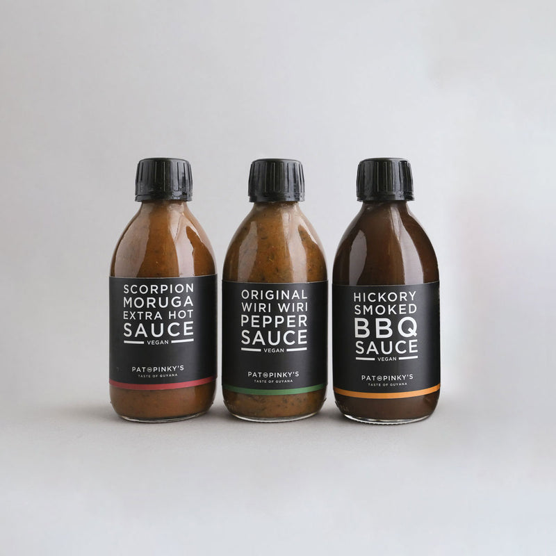 Pepper Sauce Bundle Our Dark & Stormy is Replacing Scorpion Hotsauce