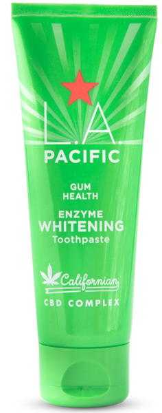 CASE: L.A Pacific Gum Health Enzyme Whitening Toothpaste 75ml