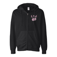 Less Than Jake Black Full Zip Pez Tattoo Hoodie