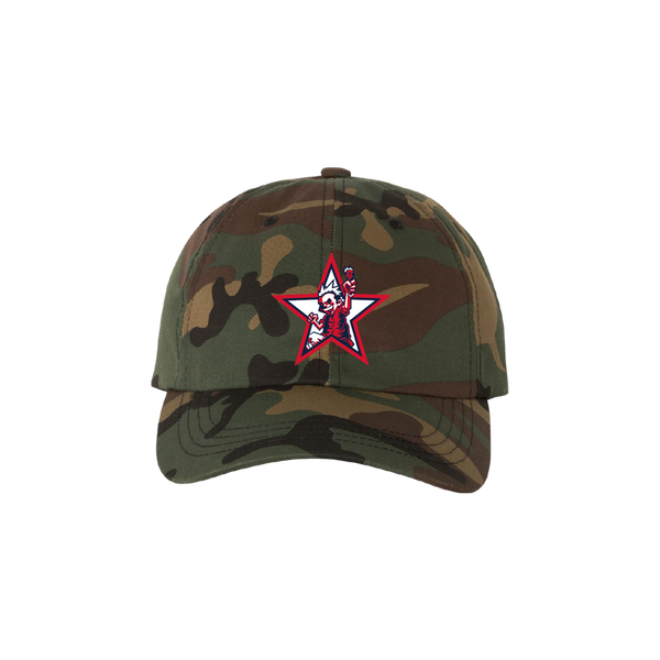 Less Than Jake Camo Comi Dad Hat