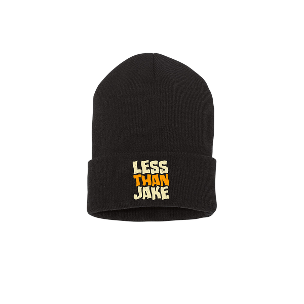 LTJ Crew Black Knit Winter Cap