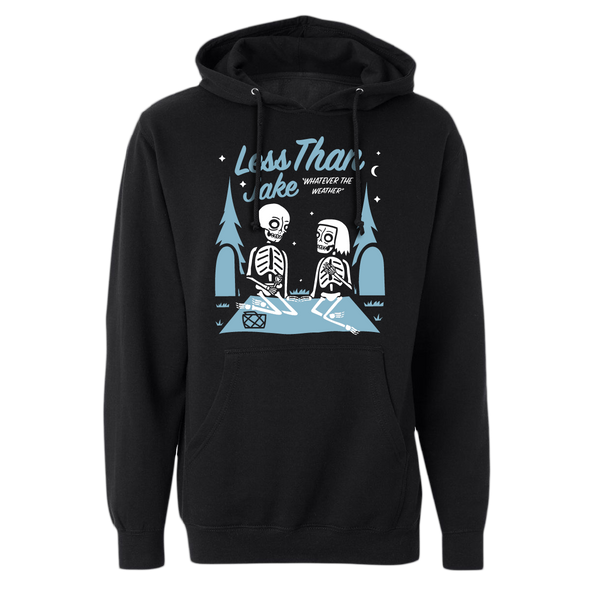 LTJ Black Weather Unisex Hoodie