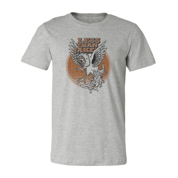 LTJ Grey Screeching Owl Unisex T-Shirt