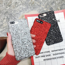 Load image into Gallery viewer, Bling Glitter Case For OPPO F9 Pro F5 F7 A7X A57 A59 A77 A83 A73 A79 A3 A71 A37 A5 PC Hard Back cover For OPPO R17 Pro R9S Plus