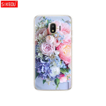 Load image into Gallery viewer, Soft Case For Samsung J2 Core Case Silicone Back Cover Phone Case For Samsung Galaxy J2 Core 2018 J 2 SM-J260F J260F J260 flower