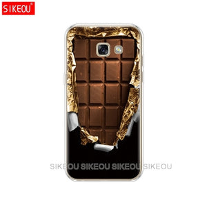 phone case cover for Samsung Galaxy A3 A5 A7 2015 2016 2017 A500 A510 A520 A300 A310 A320 A700 A710 A720 alenka bar chocolate