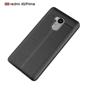 For Xiaomi Redmi 4 Pro Prime Case Litchi Leather Grained TPU Silicon Cover Cases For Xiaomi Redmi 4 Pro Prime 3GB Version