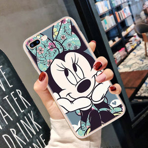 Ultra Slim Case For iphone 8 7 6 6S Plus Cartoon Soft Clear TPU Cool Funny Frog Pattern For iphone X 11 Pro XS Max XR Case Cover
