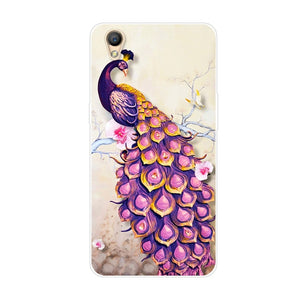 For OPPO A37 Case 5.0'' Cartoon Painted Soft TPU Back Cover Coque For Oppo A37 Case A 37 A37M A37F Silicone Phone Cases Capas