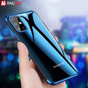 Phone Case for Samsung A51 A71 Case Shockproof Luxury Back Transparent TPU Cover Case for Samsung Galaxy A51 A 51 A71 A 71 Case